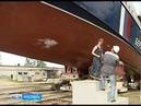 В Ярославле спустили на воду погранично сторожевой катер проекта Светляк