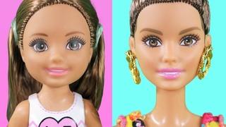 КУКЛА ВЫРОСЛА ЗА НОЧЬ! Мультфильм Мама Барби Для девочек Мама барби и Маша все серии про куклы игры в дочки матери распаковка мультики 2018