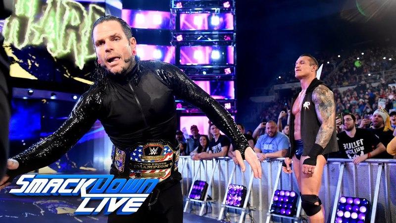 Jeff Hardy joins SmackDown LIVE April 17, 2018