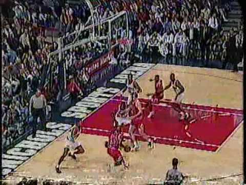 Bulls vs Nuggets 1996 - Michael Jordan 39 points