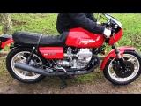 Мотоцикл Moto Guzzi Le Mans MkII, 1982 года