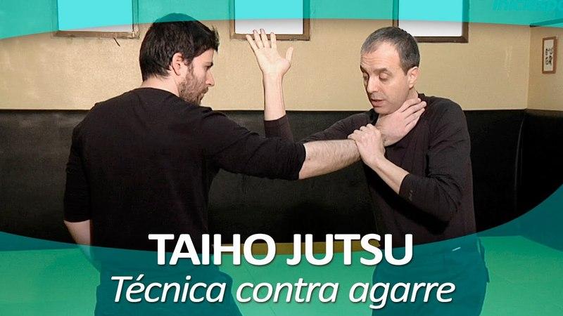 TAIHO JUTSU 3 sistema japonés defensa personal policial Técnica contra agarre