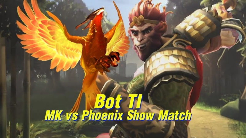 Bot TI Show Match | Monkey King vs Phoenix