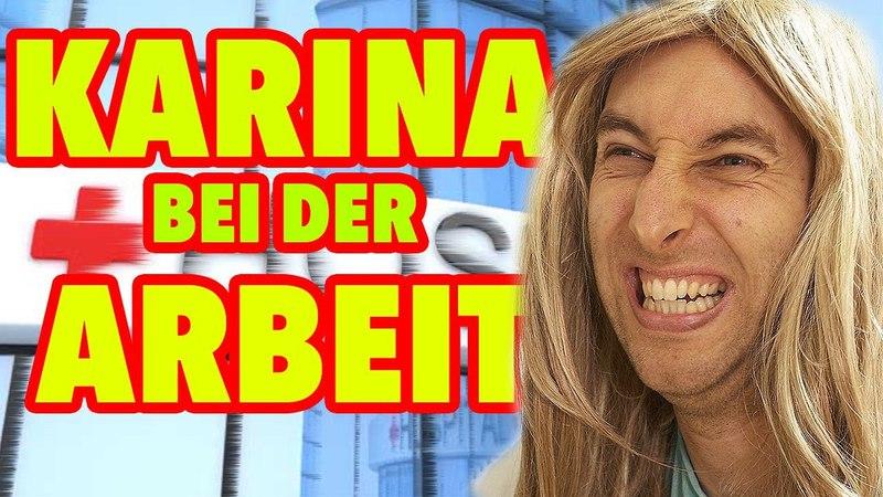 Karina bei der Arbeit - Ärztin! (Teil 1)