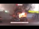 На центральном рынке в Азове произошел пожар