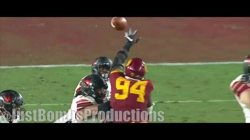USC DL Rasheem Green Career Highlights