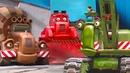 Мультик про машинки. Синий Трактор на Стройке. Все пропало!