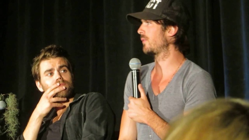 Ian giving Paul a compliment