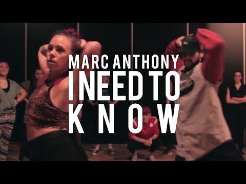 I Need To Know - Marc Anthony | Kayla Janssen Neal Piron Choreography