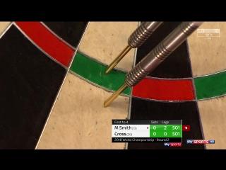 Michael Smith vs Rob Cross (PDC World Darts Championship 2018 / Round 2)