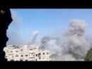 Война в Сирии Авиаудар по позициям боевиков