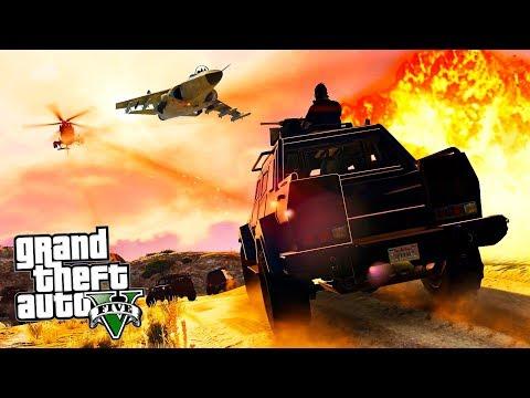 GTA 5 ONLINE - НАЛЁТ НА HUMANE LABS!! Прохождение ограблений в ГТА 5 Онлайн!
