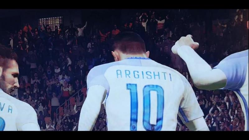 ARGISHTI PES 18 /BEST SKILLS/NEW INTER STARS!!