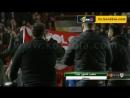 جمهور بيرستول يقتحم الملعب بعد فوز فريقه على مانشيستر يونايتد