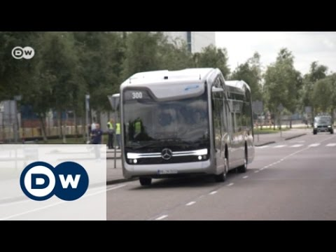 Mercedes-Benz Future Bus with CityPilot | Drive it!