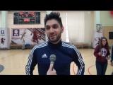 Чемпионское послематчевое интервью. Саркисов