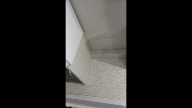 прямая кухня, длиной 3,4 метра