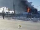 В Коченёво сгорел жилой дом