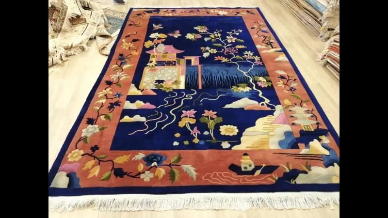 Chinese Art Deco Wool Carpet Oriental traditional rug Persian handmade silk carpet modern wool carpet