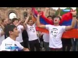 Россия 1. Бархатная революция в Армении