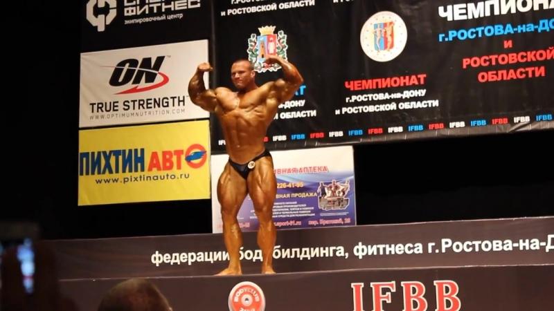 Аркадий Величко. Чемпионат Ростова. Мужчины свыше 100 кг.