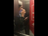 Когда застряли в лифте