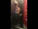 Когда застряли в лифте 😂