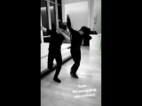 BoyangJin with MishaGe - Lets dab! - Cr. Mishage8 ins -