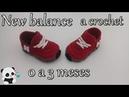 Tenis New balance a crochet -bebe -