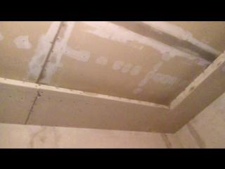 Гипсокартоновые потолки на кухне