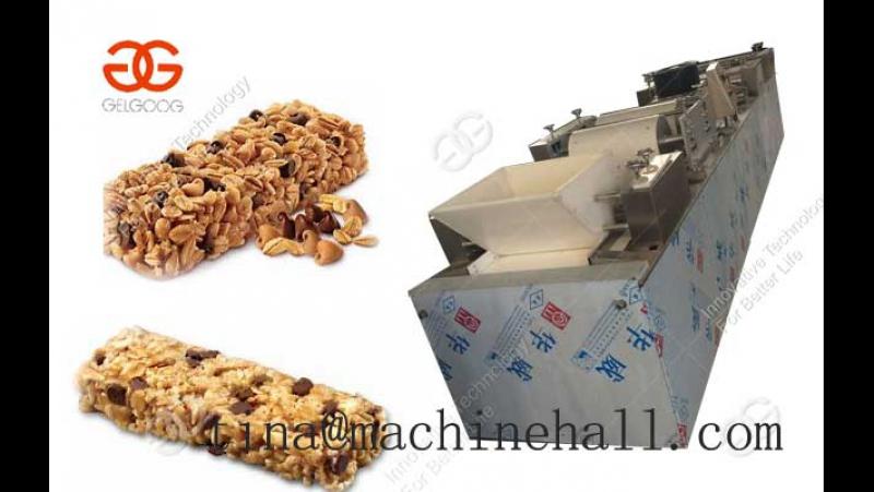 Rice Candy Bar Making Machine Working Video
