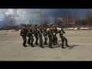 Строевая средней группы ВПК Патриот на дивизионных соревнованиях Зарница 2017 в с Спасское