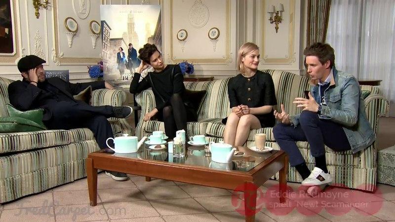 PHANTASTISCHE TIERWESEN | Interview mit Eddie Redmayne, Alison Sudol, Dan Fogler uvm