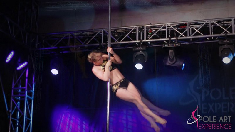 Alona Babynina | PROFESSIONAL | Pole Art Experience 2018 1st place professional