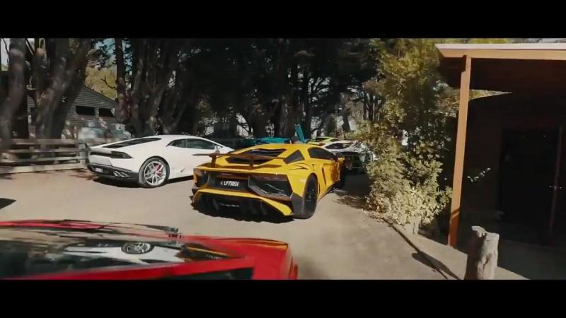Lamborghini Oceania Giro