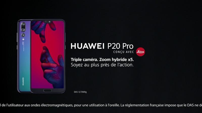 Huawei P20 Pro x Griezmann - Il s'incruste !