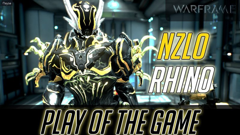 Warframe PLAY OF THE GAME