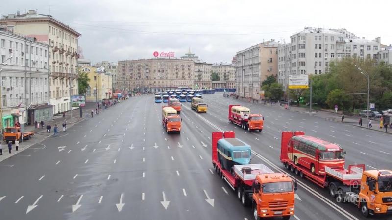 Москва - Парад городской техники 2016 Moscow