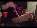 Stefan jamming Nordic Bowed Lyre