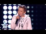 Our pocket-sized superstar Calum Courtney is SHINING tonight! The Final BGT 2018