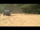 RUSSIA RC CHANNEL scale offroad adventures in desert defender by Kahn design, defender 110, defender 130. slowmotion