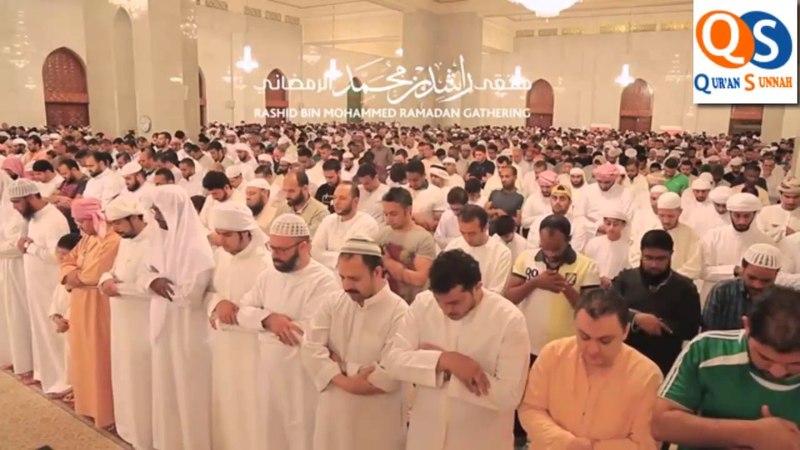Идрис Абкар - таравих намаз 8 день Рамадана 2017 г