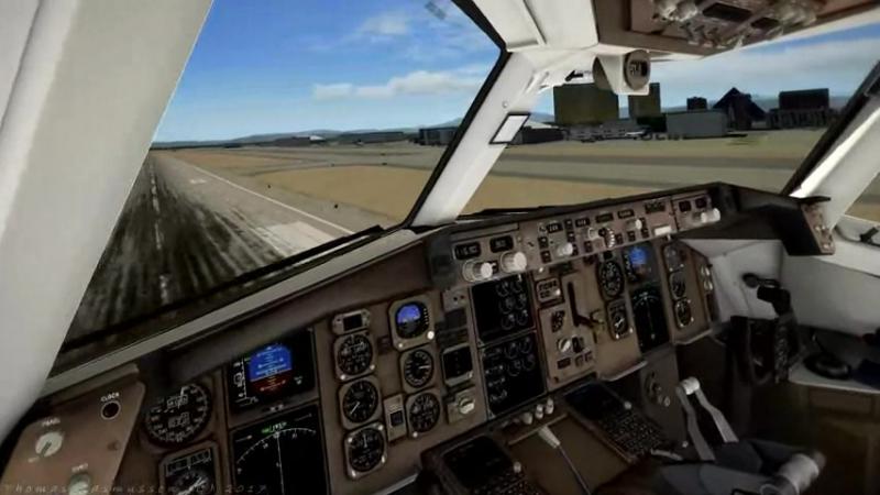 Лос Анджелес X-Plane 11
