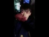 180113 Сяо @ Обновление корейского твиттера группы