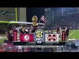 NCAAF 2017 / Week 11 / (2) Alabama Crimson Tide - (16) Mississippi State Bulldogs / 1Н / 11.11.2017 / EN