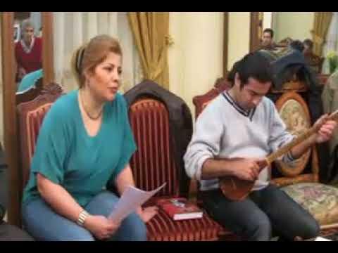 دکلمه شعری از شهریار با اجرای فرشته ملک فرن