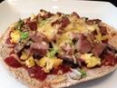 Рецепт полезной пиццы на завтрак. Healthy Breakfast Pizza Recipe - Healthy Breakfast Recipes - Breakfast Pizza Recipes