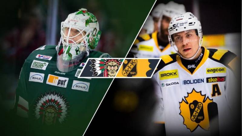 Frölunda HC Skellefteå AIK 1 2 SHL 2017 11 02 Game week 16