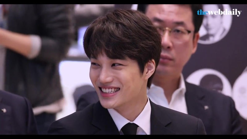 [vid] 180418 @ COEX Artium after Official Commemorative Medal Release Ceremony / Kai