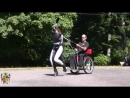 highstepping Red Rocket ponygirl gives fabulous carriage-ride